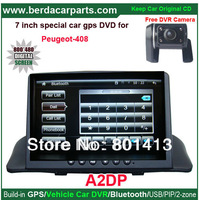 "7""High definition digital panel Built-in Bluetooth,GPS,USB Special for Peugeot 408"