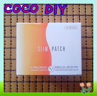 Slimming Navel Stick Magnetic Slim Patches Sharpe Weight Loss Burning Fat Patch With Package  30pcs/lot