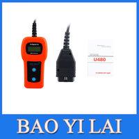 U480 OBD2 CAN BUS & Engine Code Reader U480 Code Reader Scanner