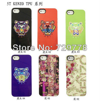 10pcs /lot New design High Quanlity  fashion KEN TPU covers for iphone5 5G,with retail package, Free Shipping