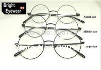 Besterseller Vintage metal Harry Potter John Lenon round frame brand prescription spectacles eyewear optical eyeglasses frame
