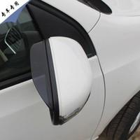 VW Volkswagen polo Modified block dedicated rearview mirror rain eyebrow rain or shine