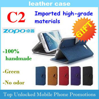 ZOPO C2 case zopo zp980 Flip cover case Leather Imported high-grade materials 100% handmade Free shipping