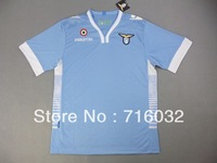2013 /14,Embroidery Logo SS LAZIO home soccer Jersey ,Thai Quality, LAZIO football jersey player version,Free Shipping