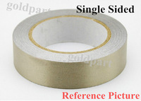 1x 10mm* 20M Single Sided Adhesive Silver Conductive Fabric Cloth Tape  for Laptop LCD Cable EMI Shielding Keyboard Repair #EC55