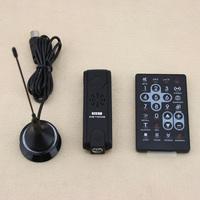 Digital remote control controller USB 2.0 DVB-T HDTV TV receiver stick tuner with FM DAB DVBT:48.25~863.25MHz  FM:87.50~108MHz