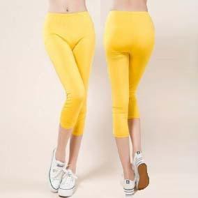 10 COLORS Korea Design Lady Skinny Leggings L-4XL High Elastic Comfort Women Fashion ...