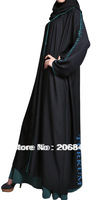 Hot sale Islamic dubai style, women's abaya  TK-305 Series(MOQ: 1 Piece) ,(Abaya , Jilbab, muslim woman's cloth ,arabic cloth)
