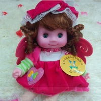 Free shipping! Singing baby angel doll simulation witch girl doll toys