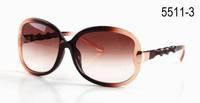 Top fashion women sunglasses  retro vintage eye glasses Free shipping 5511-3