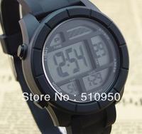 2014 Men multi-functional outdoor waterproof sports casual watch men's   electronic military mountaineering watch