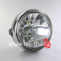 Motorcycle Chrome Halogen Headlight for Honda