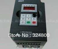 CNC Engraving machine spindle motor inverter 1.5 kw maximum FM 1000 hz, 220 v/High performance universal frequency converter