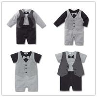 4pcs/lot Long Sleeve Baby Rompers Children Clothing Kids Clothes Toddler Newborn Boy suit One-piece Cotton Romper Jumpsuit