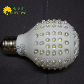 E27/E26/B22 G301 Dimmable Globe LED bulb light lamp 220V or 120V  8W Warm White Coll White red blue green