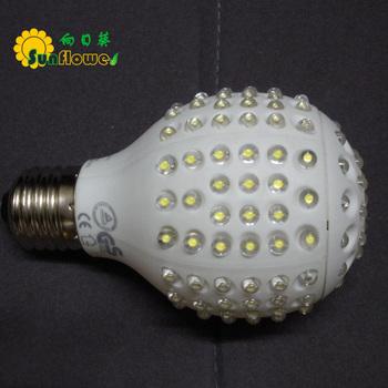 E27/E26/B22 G301 Dimmable Globe LED bulb light lamp 220V or 120V  8W Warm White Coll White red blue green