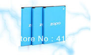 original ZOPO ZP980 zp980+ C2 C3  battery, 2000mAh rechargeable Li-ion original  battery free shipping by SG post