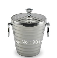 1200ml stainless steel double walls hotel restaurant bar ice bucket ice can ice box