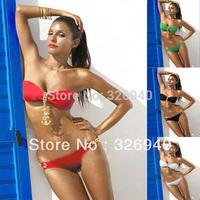 Jewelry Chains Padded Push Up Sexy Bikini Swimwear Bathing Suit Swimsuit Biquini