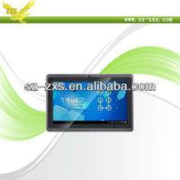 Free Shipping Shenzhen Zhixingsheng allwinner a13 1.2ghz ram 512mb rom 4gb wifi wintouch tablet pc Q88