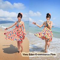 summer sexy bohemian beachwear dress 2013 for girls free shipping 5 Colors 3 Sizes