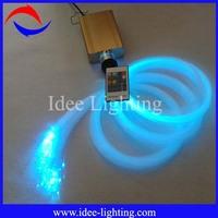 188pcs three diameters 16W LED fiber optic star light ceiling kit light with wireless remote control
