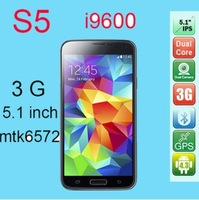 android 4.2 quad core 5.0inch dual cameras 13.0mega rear phone high quality with free shipping