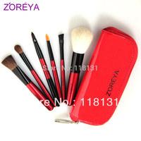 Zoreya 6 brush set loose powder brush blush brush make-up cosmetic tools cosmetic brush set
