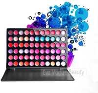 Wholesale 6pcs/lot Sweet 66 Color Lipstick Lip Gloss Cosmetic Makeup Make Up Palette Lipstick Matte Lipgloss Lip Balm