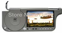 7 inch TFT Car Monitor Sunvisor/Sun visor DVD Monitor /Available in Black, Grey & Tan