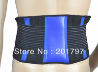 Free Shipping Colorful Adjustable Elastic Waist Support Belt For Sports