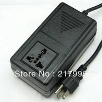 Free Shipping 200W AC Power 110V/120V to 220V/240V Travel Voltage Adapter, Transformer