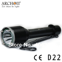 ARCHON D22 CREE XM-L T6 3-Modes 1000-Lumens Professional Diving Light( 2*26650 Li- ion battery )+ Free Shipping