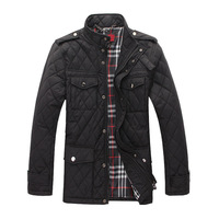 New Arrive Men's Jacket Cotton On Man Of Cloth Men's Clothing Winter Coat Men 2013 Black/Khaki/M/L/XL/XXL/Man Coat#f85
