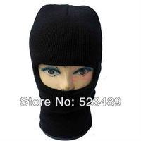 2014 Hot Sale 1 Hole Knitted Face Mask Balaclava Hat Ski Army Stocking Winter Cap Beanie Hood