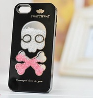 Swarovski luxury Diamond Bling case cover for iphone 5 5s 5G 1PCS/lot free shipping 2013 hot fashion