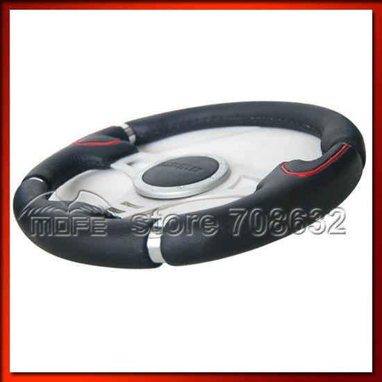 Universal 350mm 14 Inch Auto Tuning MOMO Millenium Steering Wheel(China (Mainland))