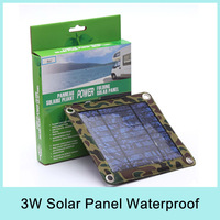 3W Portable Folding Solar Panel Charger USB Output:5.5V*550mA for phone/camera/MP3/MP4 and PDA