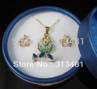 12pcs/pcs 8.5*3.5CM Cheap Jewelry Set Box Necklace Rings Earrings Bracelet Gift Packing Case FGR2