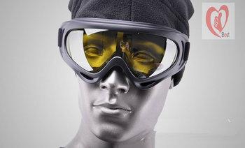 UV400 Super Sports Ski Snowboard Skate Goggles Glasses Outdoor Motorcycle Off-Road Ski Goggle Glasses Eyewear Lens Free shipping