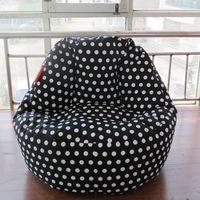 large Bean Bag chair cover Computer chair bean bag cover cotton canvas beanbags chair Free shipping