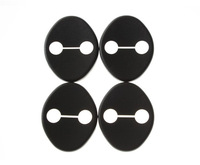 4pcs Car Door lock decoration cover Door lock protective cover Door  cover  for KIA  K2 / RIO SOUL Hyundai solaris\verna Rena