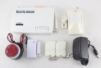 315Mhz or 433Mhz 99 Wireless zones and 5 wired zones GSM home alarm system ( 900/1800/1900MHz)