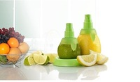 2pcs/set Lemon Juice Sprayer Citrus Spray Hand Juicer Mini Squeezer Kitchen Tools Set Creative Gifts Free shipping #H0185