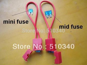 Waterproof Medium fuse holder &fuse holder  mini Auto Car Boat Truck Blade Fuse Holder car fuse holder waterproof