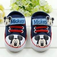 top quality new 2013 Free Shipping Wholesale 3pairs/lot Baby Boy Sneakers Soft Sole Infant Shoes for first walkers and infantil