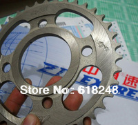 Motorcycle Sprocket  Motorcycle Rear Sprockets  Engine CG CM CBT125 /150cc 38Teeth Rear Sprockets For Motorcycle 428 Chain