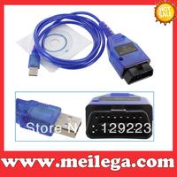 Free shipping VAG409.1 VAG-COM KKL 409.1 OBD2 USB CABLE SCAN TOOL FOR Au/di VW Volks/wagen Diagnostic Tools