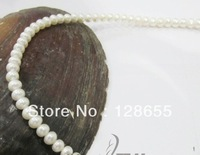 Freshwater pearl necklace     Free Shipping