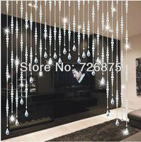 Crystal bead curtain beads curtain for door TV backgound curtain handmade bead curtain